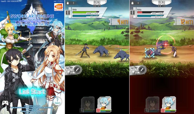 Sword Art Online Memory Defrag w750 بهترین بازیهای موبایل که از روی انیمههای ژاپنی ساخته شدهاند اخبار IT