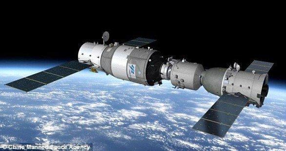سقوط موقت ایستگاه فضایی چین؛ تیانگونگ 2 رو به نابودی است؟