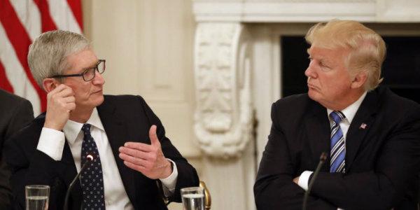 ترامپ و اپل