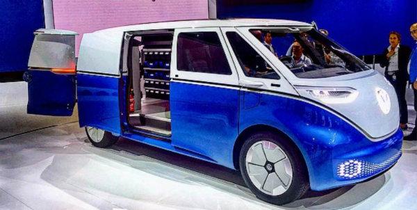 Volkswagen Reveals I.D. BUZZ CARGO (2)