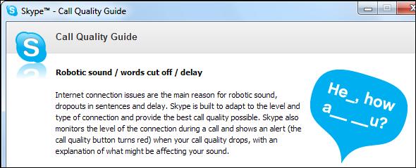 رفع مشکلات اسکایپ