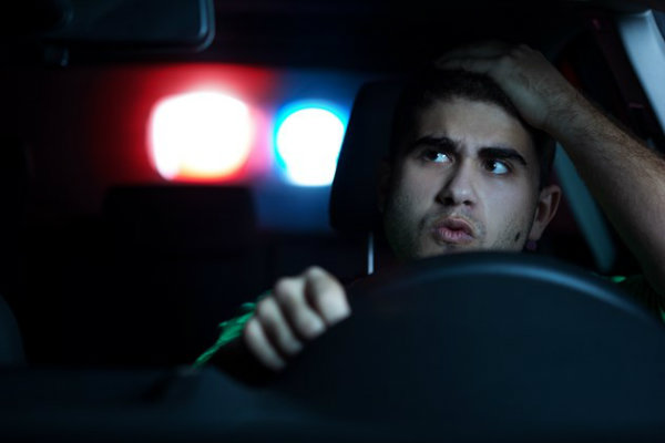 police-stop-male-driver