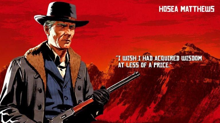 شخصیت های Red Dead Redemption 2