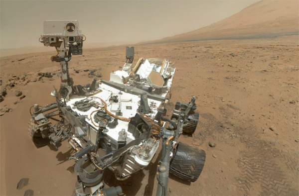 کاوشگر کنجکاوی ناسا