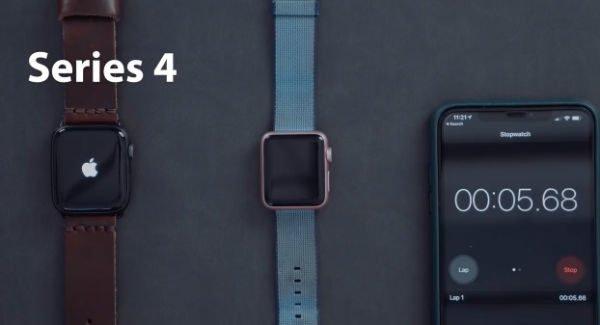 7 600x325 - تست مقایسه کلی سرعت اپل واچ های مختلف با یکدیگر [تماشا کنید]