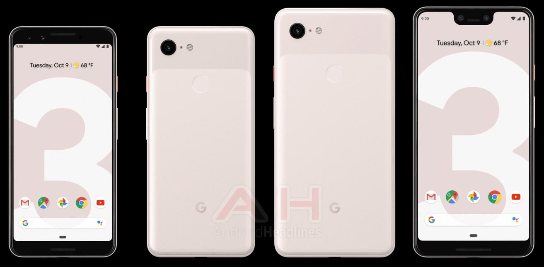 رنگهای گوگل پیکسل ۳