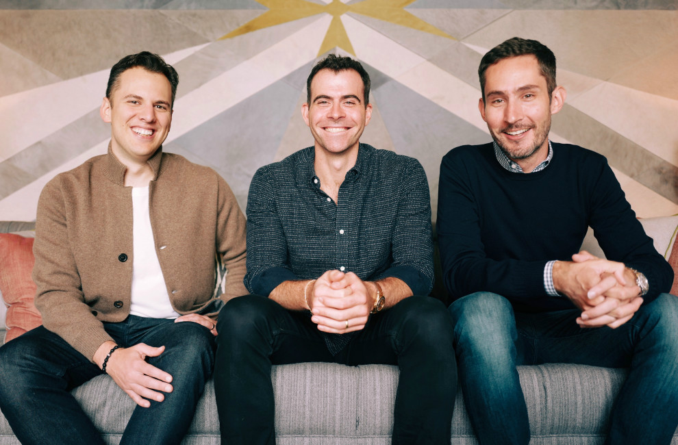 Head of Instagram Adam Mosseri with co founders Kevin Systrom and Mike Krieger1 - با آدام موسری، رئیس جدید اینستاگرام آشنا شوید