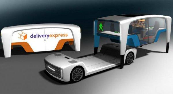 کانسپتی ماژولی خودرو با کاربردهای متفاوت؛ رین اسپید میکرو اسنپ مفهومی برای دنیای آینده