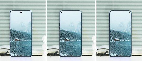 طرحی مفهومی از موبایل گلکسی A8s