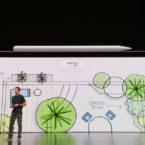 اپل پنسل 2 رونمایی شد؛ استایلوس آهنربایی جدید با چسبیدن به بدنه آیپد شارژ می شود