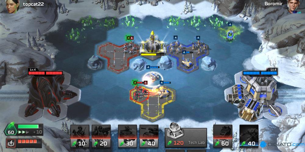 بازی Command & Conquer: Rivals