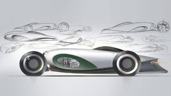 تصویر اتومبیل های لوکس 2050؛ ماحصل همکاری بنتلی و دانشجویان طراحی رویال کالج