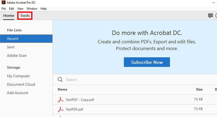 چگونه دو یا چند فایل PDF را با هم ترکیب کنیم؟