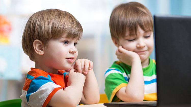 تکنولوژی در مهد کودک