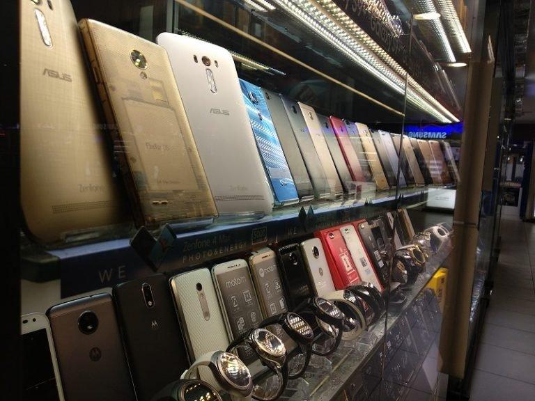 افزایش واردات موبایل