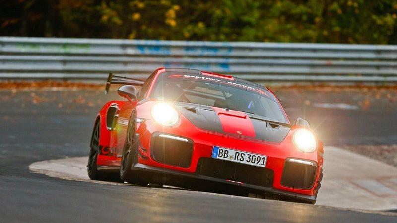 جابجایی رکورد پیست نوربرگ رینگ؛ این بار توسط پورشه 911 GT2 RS تیونینگ Manthey Racing