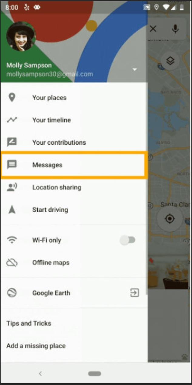 ارسال پیام به رستورانها و فروشگاهها با استفاده از گوگل مپس فراهم شد