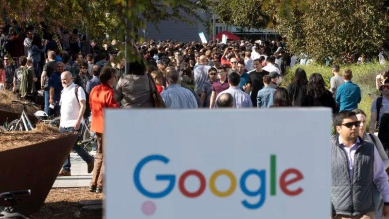راهپیمایی اعتراضی کارکنان گوگل
