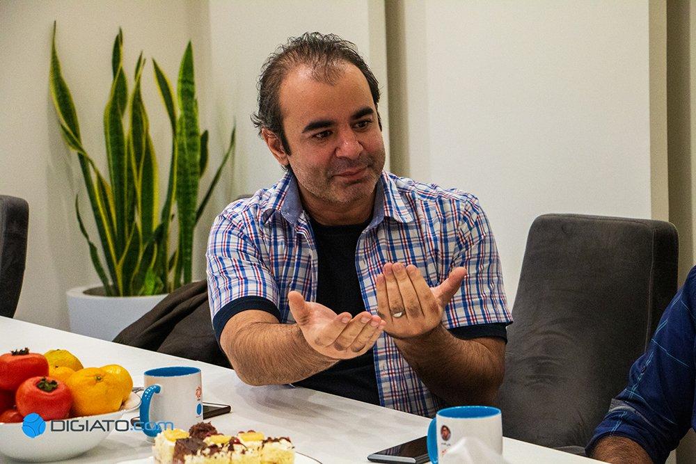 امیر محمدرضایی کارت زرد وزیر ارشاد