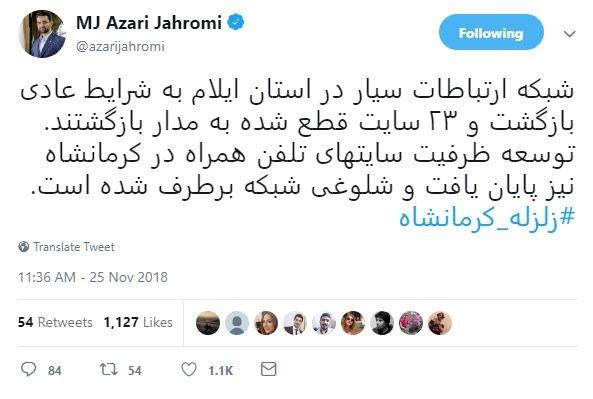 ارتباطات در کرمانشاه