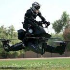 جزییات بیشتر از موتورسیکلت پرنده پلیس دبی [تماشا کنید]