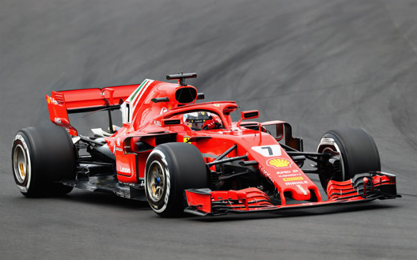ferrari 2018 f1 car