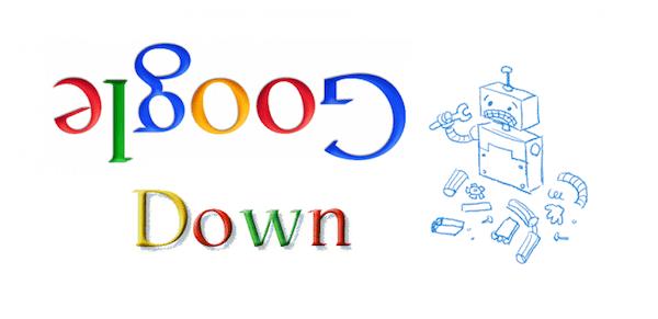 اختلال در سرویس های گوگل