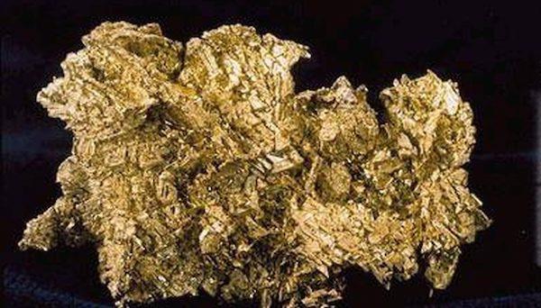 ذوب طلا در دمای اتاق