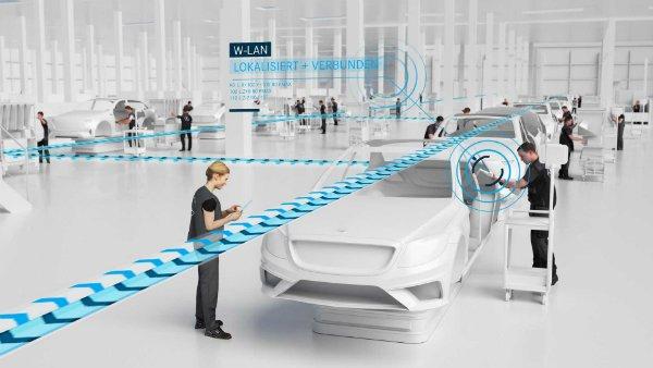 نگاهی به کارخانه 56 مرسدس بنز، وقتی خط تولید خودرو از نو اختراع می شود [تماشا کنید]