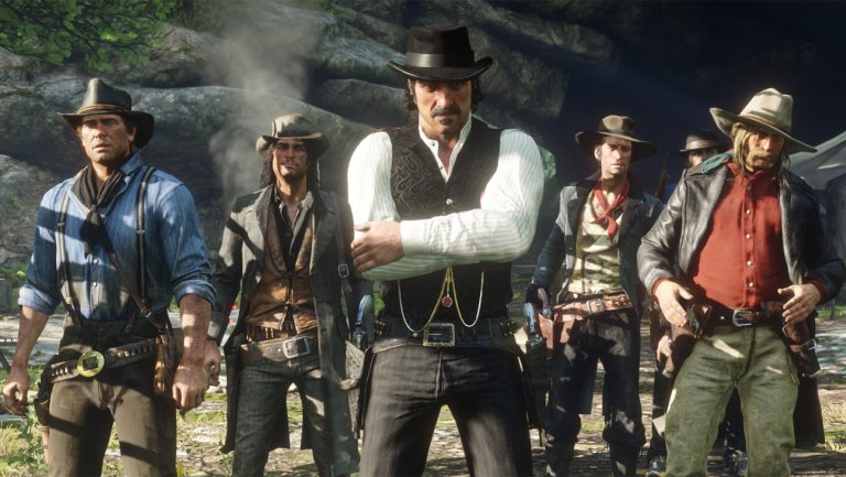 بخش چندنفره Red Dead Redemption