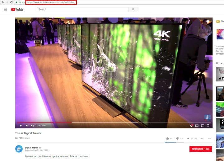 ساخت GIF از ویدیوهای یوتوب