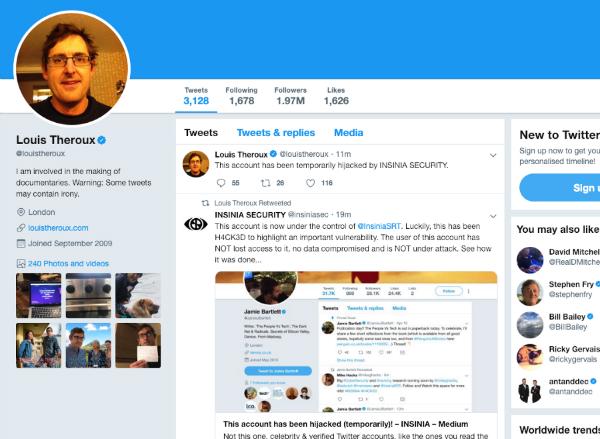 هک صفحه توییتر