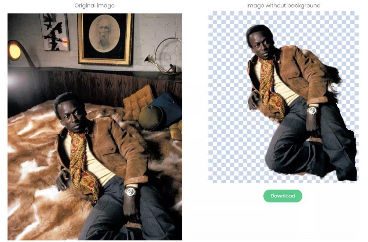 Davis 01 1 - معرفی ابزار آنلاین Remove.bg؛ حذف پس زمینه عکسها تنها با یک کلیک