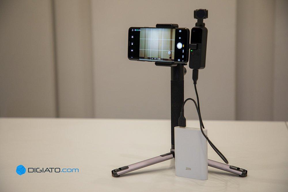 بررسی دوربین DJI Osmo Pocket