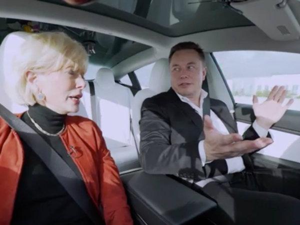 Elon Musk broke one of Tesla's biggest Autopilot rules in a TV interview