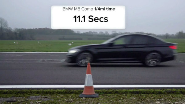 Mercedes-AMG E 63 S Finally Drag Races BMW M5 Competition (2)