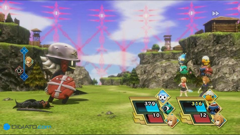 بررسی بازی World of Final Fantasy Maxia