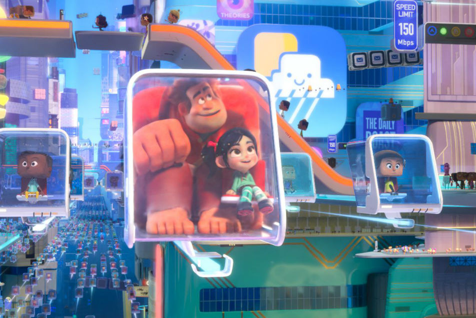 انیمیشن Ralph Breaks The Internet