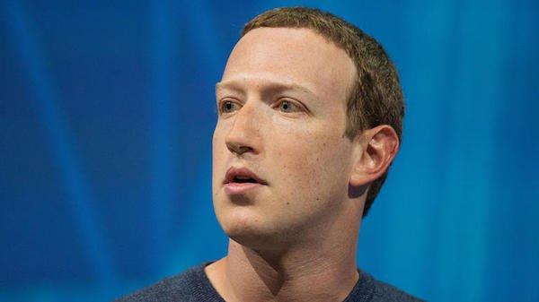 مارک زاکربرگ مدیر عامل فیسبوک