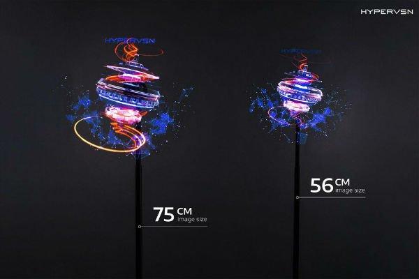 2 1 3 - خودنمایی نمایشگرهای هولوگرافیک سه بعدی در CES 2019 [تماشا کنید]
