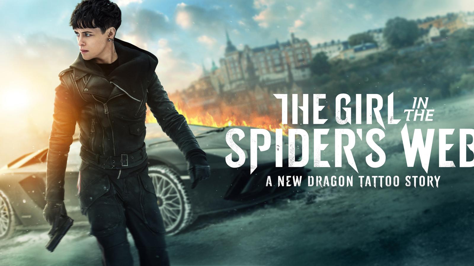 بررسی فیلم The Girl in the Spider's Web