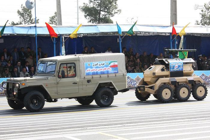 ربات های مسلح در ارتش ایران