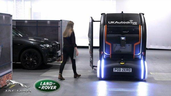 Jaguar is creating a language so autonomous cars can talk to pedestrians (1)