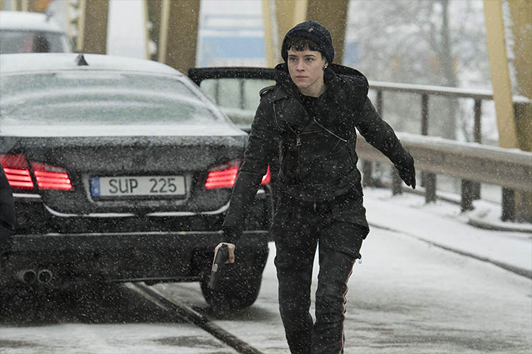 بررسی فیلم The Girl in the Spider's Web