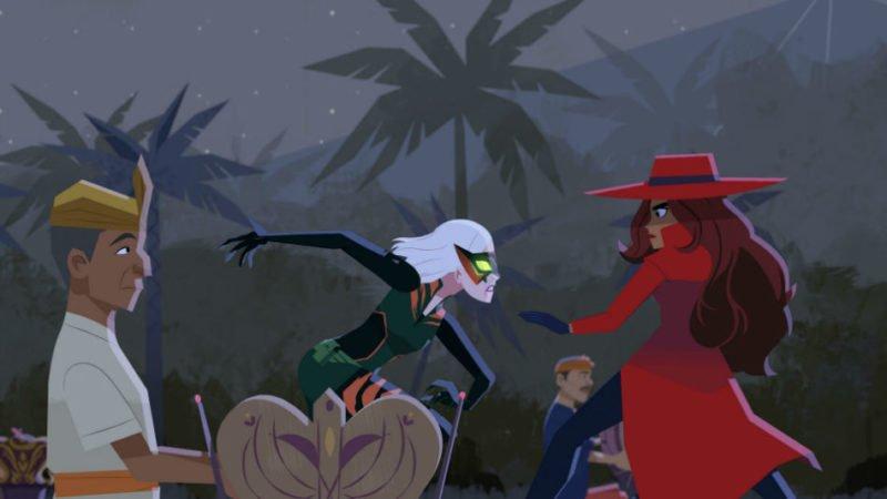 بررسی انیمیشن Carmen Sandiego