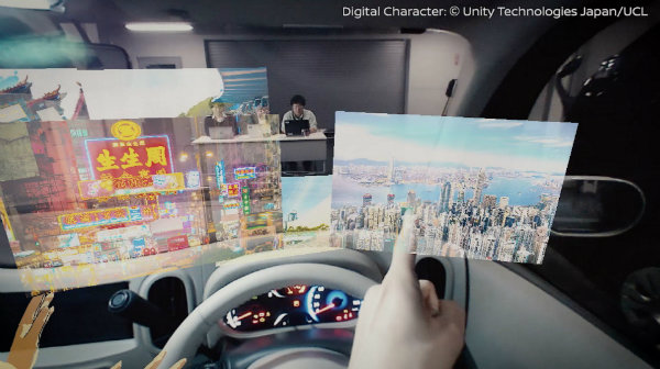 با نیسان پشت دیوار را ببینید؛ تکنولوژی Iv2 خودروساز ژاپنی برای CES 2019 [تماشا کنید]