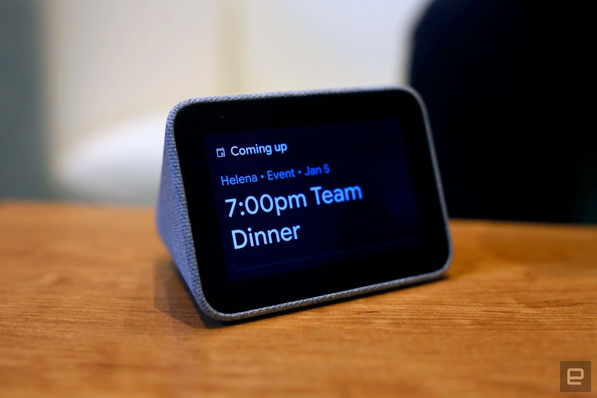 ساعت رومیزی هوشمند