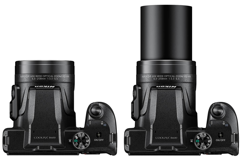 دوربین اقتصادی نیکون کولپیکس B600 با زوم ۶۰ برابری معرفی شد