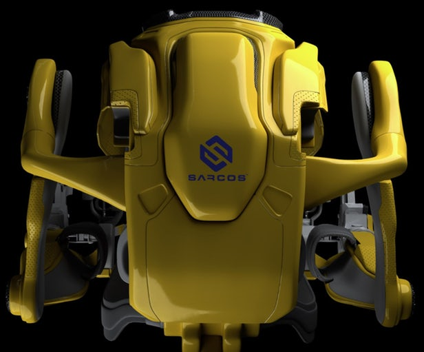 sarcos guardian 1 - لباس شارژی اگزواسکلتون به کاربران امکان حمل اجسام ۱۰۰ کیلوگرمی را میدهد