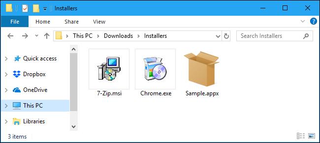 فایل MSIX